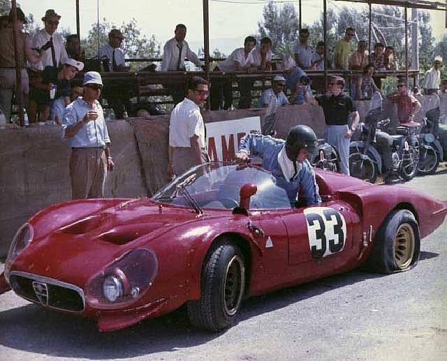 Alfa Romeo Tipo 33 Balocco 1967 Primotipo