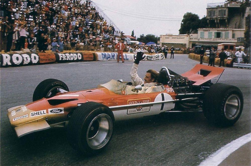 Wings Clipped Lotus 49 Monaco Grand Prix 1969
