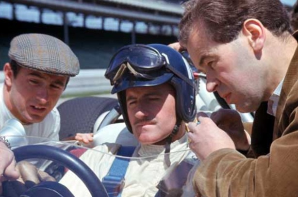 stewart hill broadley indy 1966