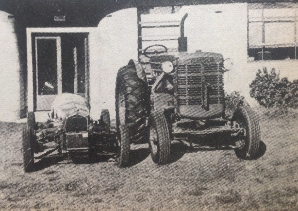 tractor and chamberlain
