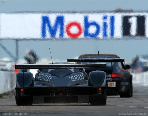 Bentley-BC26 sebring from behinsd
