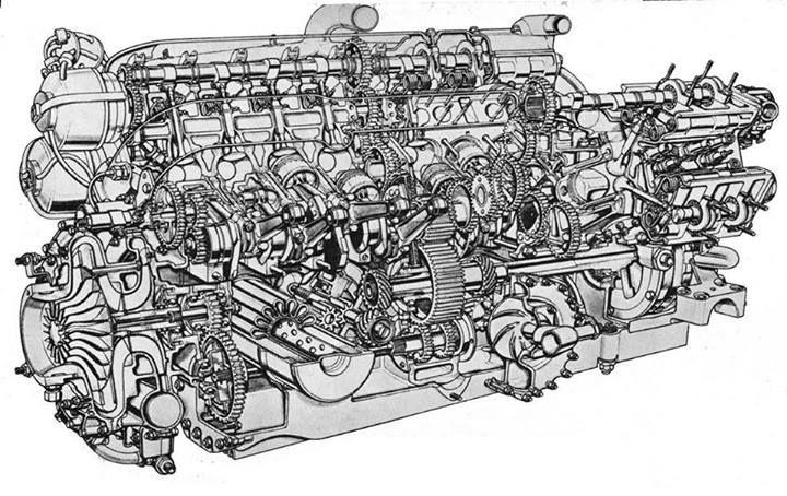 f1 primotipo page 15 brm engine cutaway