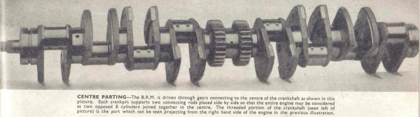 BRM V16 crank