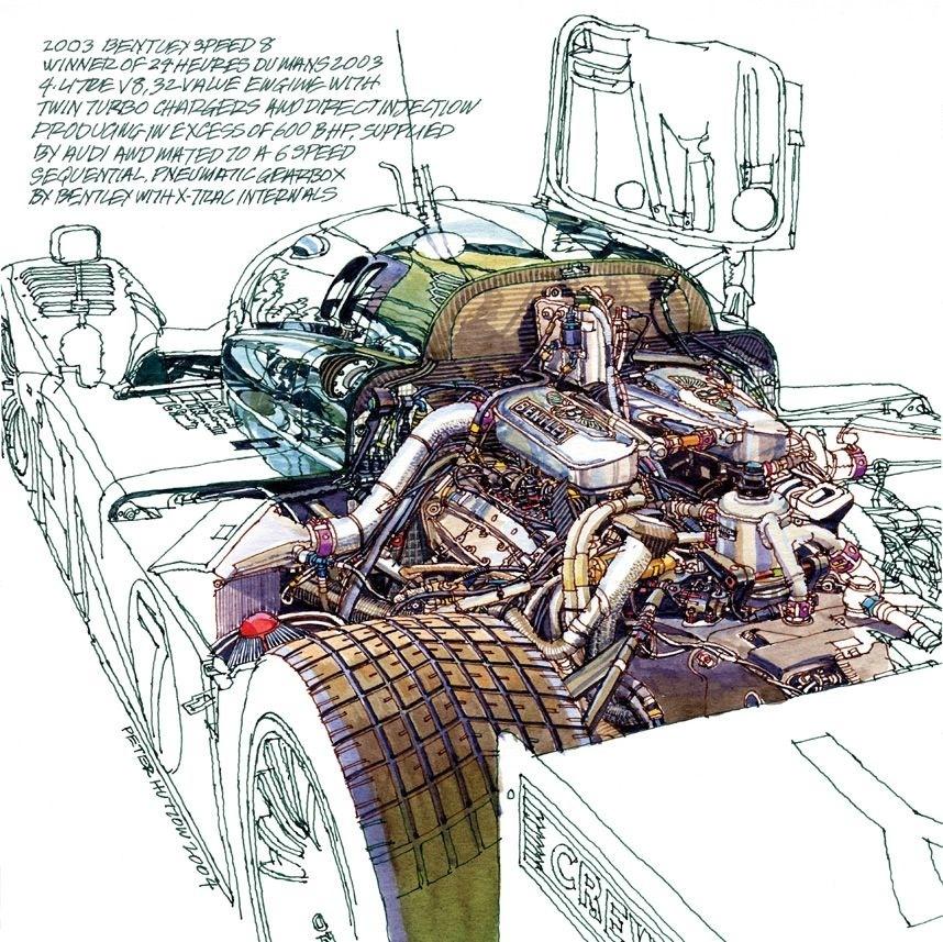 cutaway bentley