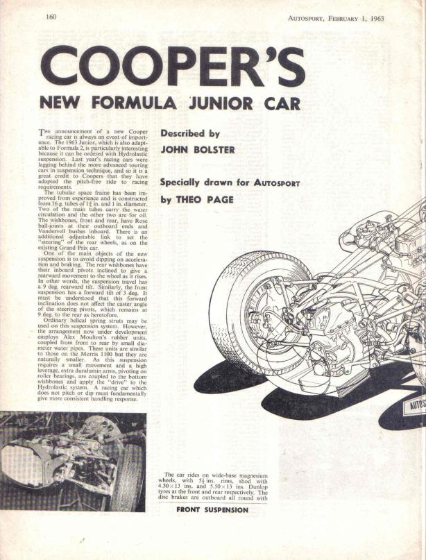 Autosport Cooper FJ 01