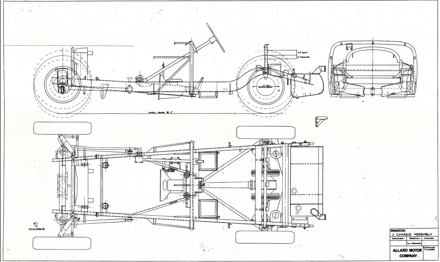 Allard J2 Tom Hawkes Collingrove Hillclimb 1952 Primotipo Austin Champ Wiring Diagram Chassis