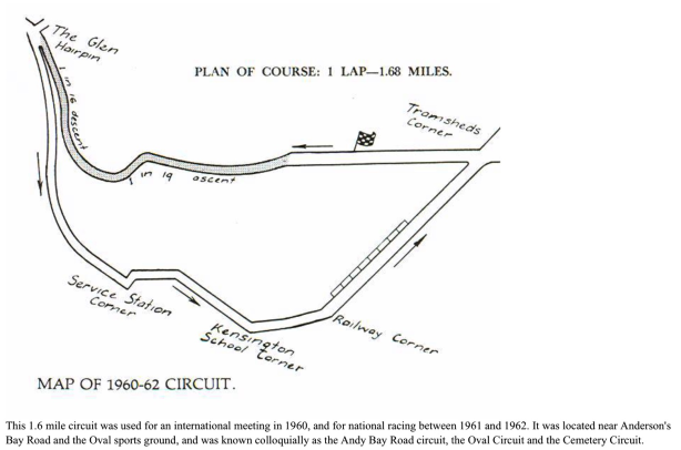 dunedin circuit map