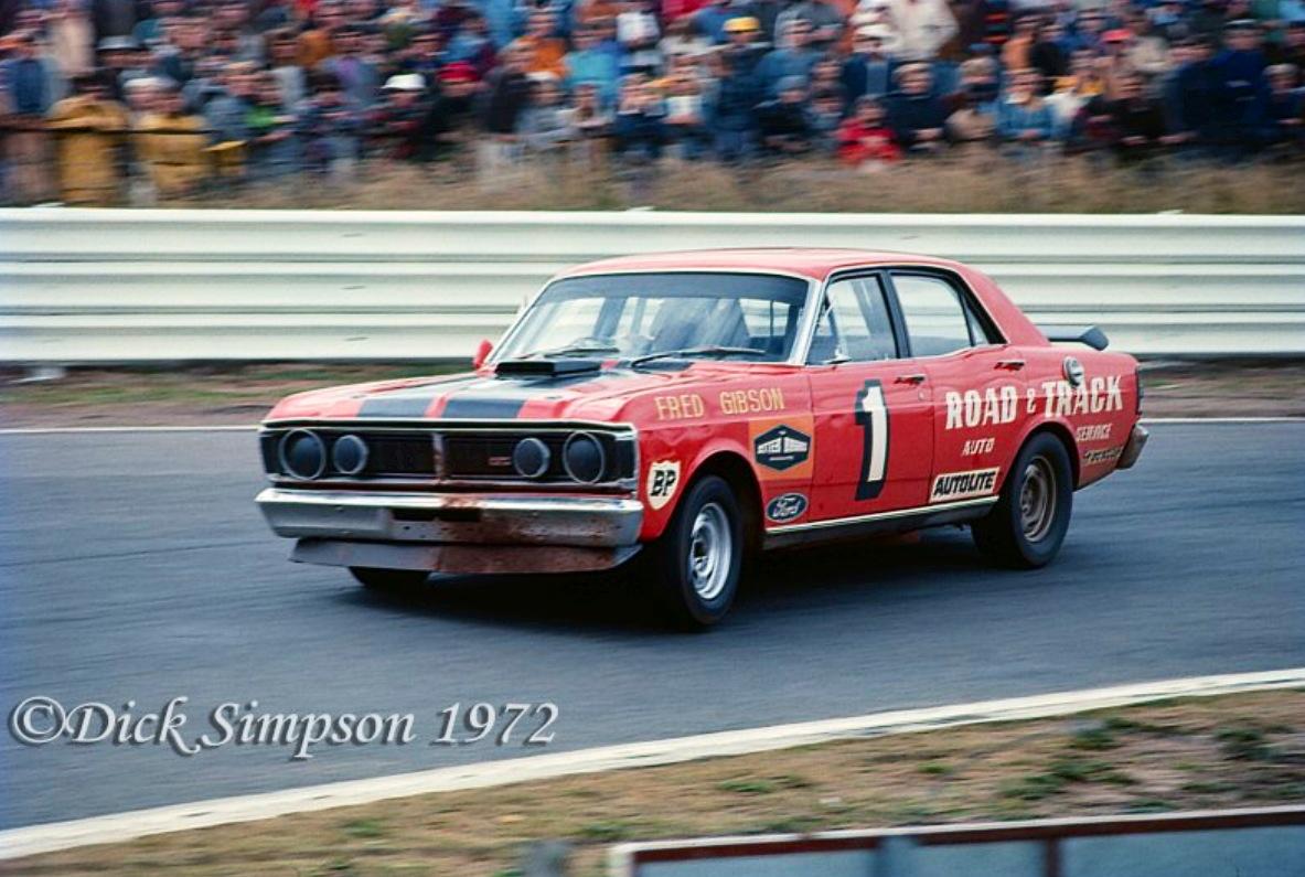 John Moffatt Race Car Driver