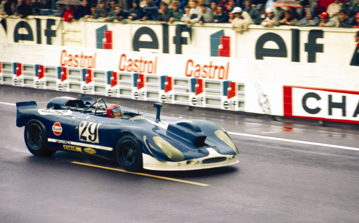 Jonathon Williams: Solar Productions Porsche 908/2: Le Mans 1970 ...