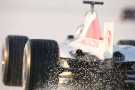 17th July 2006 Bonneville 400. Day 1. Formula 1 land speed record attempt on the Bonneville Salt Flats, Utah. USA Images copyright free.