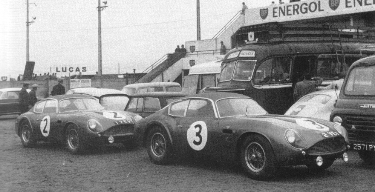 All Types aston db4 zagato : Aston Martin DB4GT Zagato '2 VEV': Lex Davison and Bib Stillwell ...