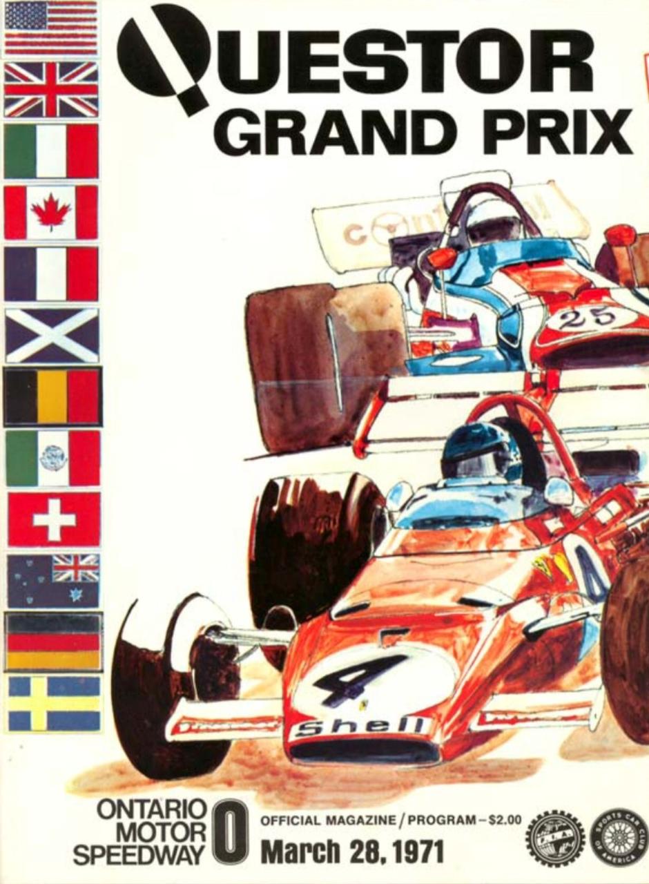 Questor grand prix ontario speedway 1971 primotipo - Parasol prix discount ...