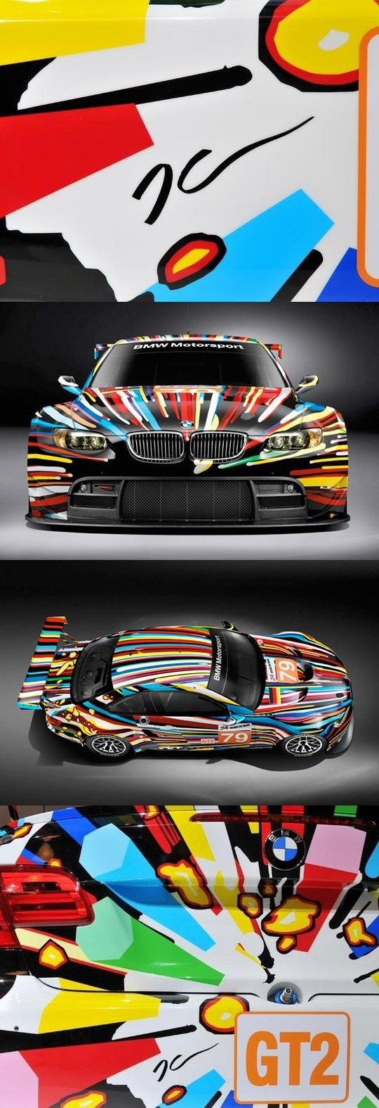 bmw modern art car