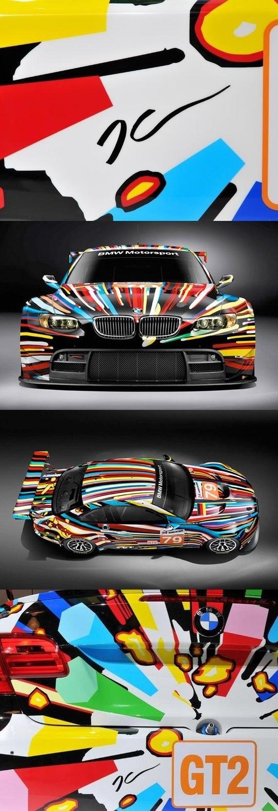 bmw modern art car