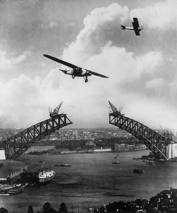 bridge plane