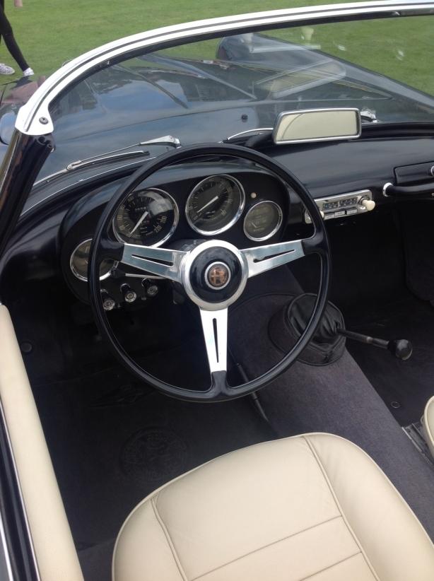 grey cockpit