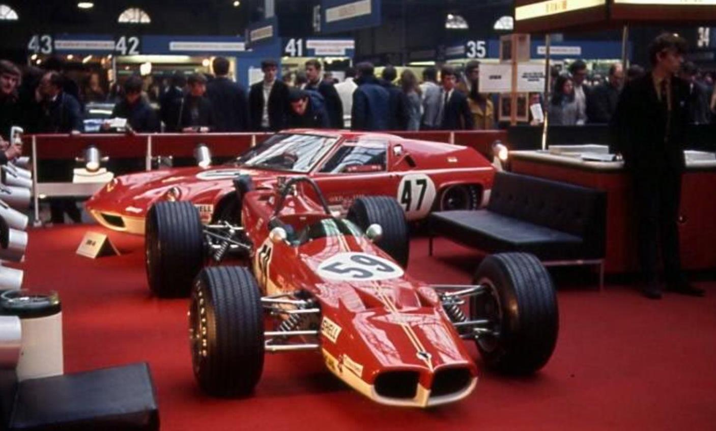 London Racing Car Show, Olympia 1969… | primotipo...