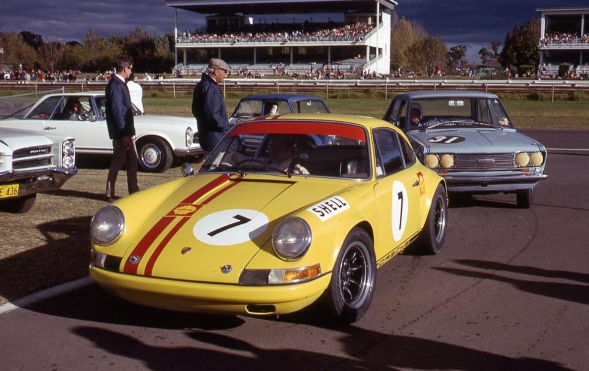 jim mckeown, porsche 911s, warwick farm 1970… | primotipo