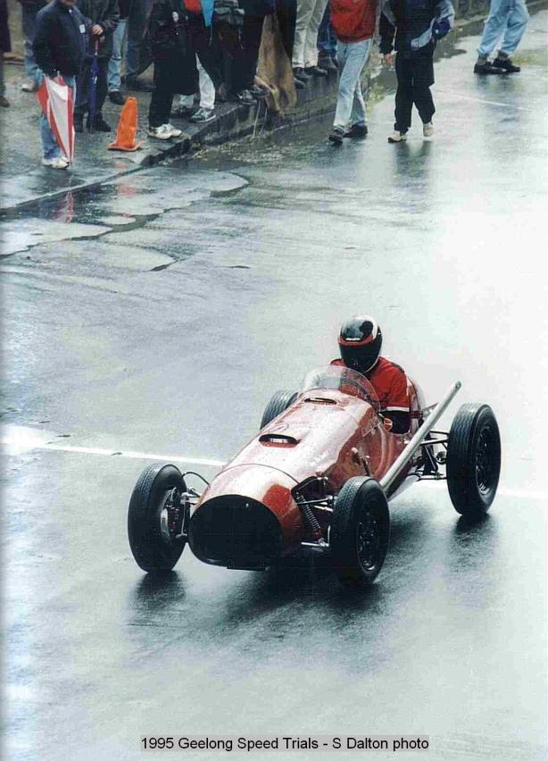 1995 Geelong Sprints - Davey-Milne 01