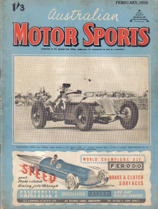 Talbot Darracq AMS cover