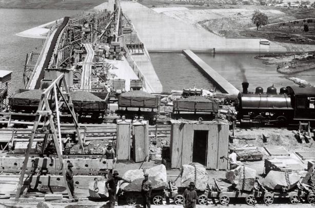 dam train