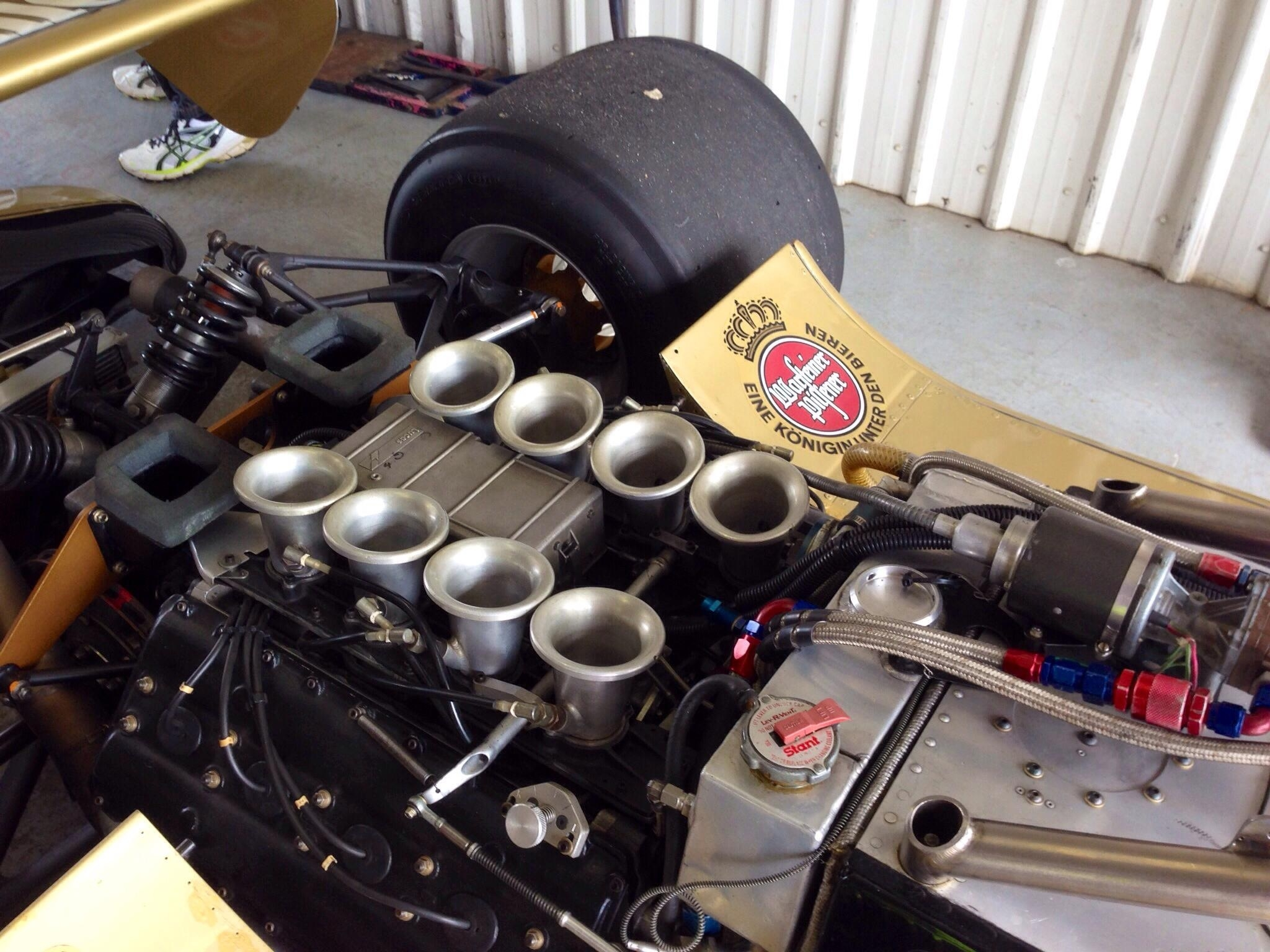 Ford Cosworth DFV Maintenance | primotipo