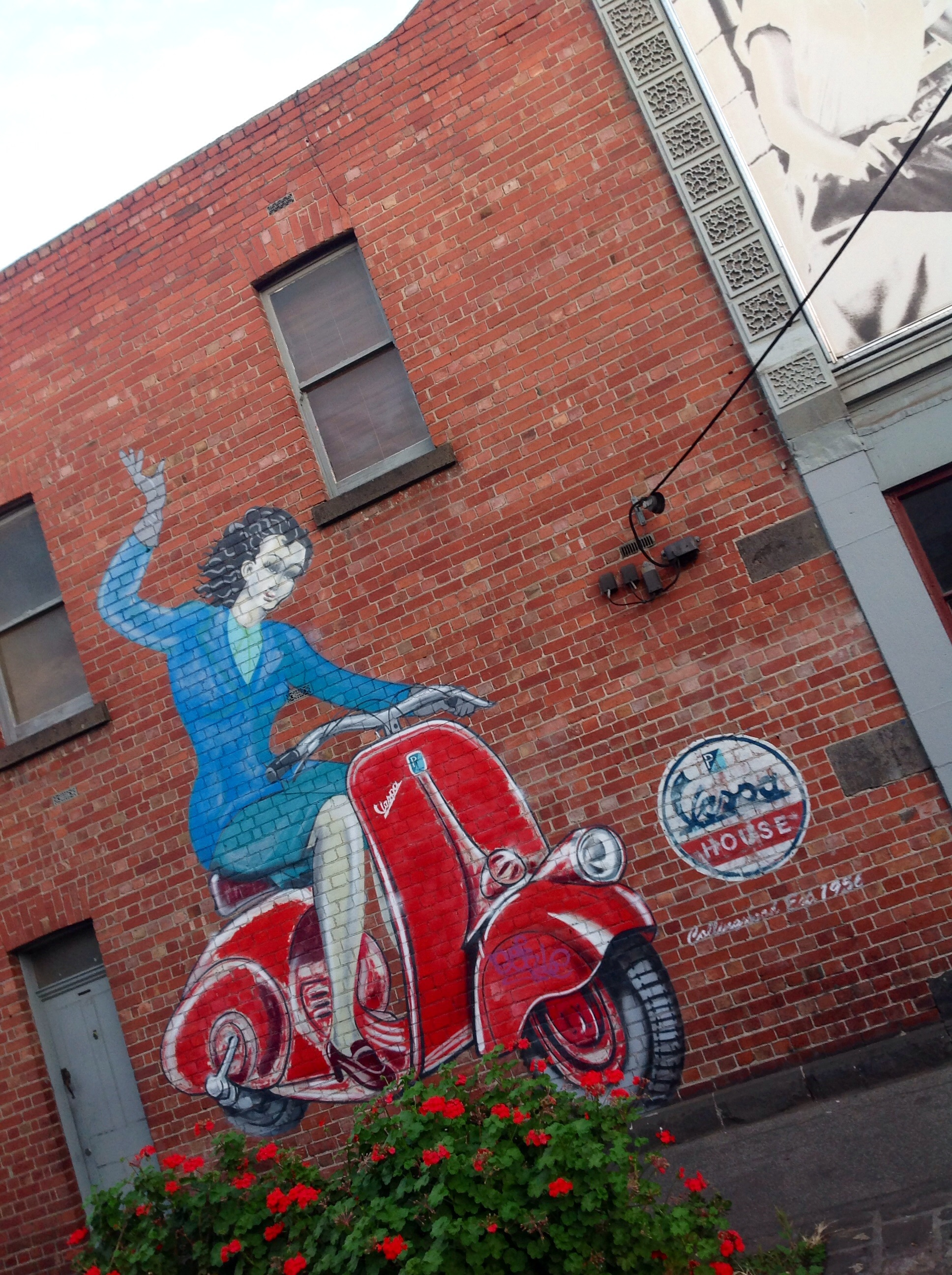 This Is Vespa House Just Around The Corner From My Joint In Johnston Street Collingwood In Melbournes Inner East