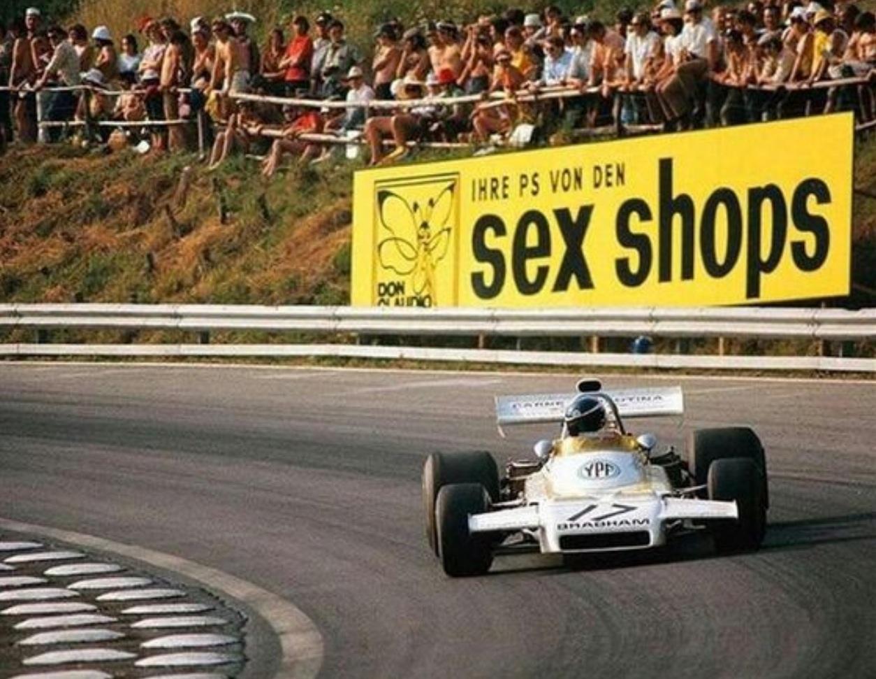 Spark 1 43 john player spl lotus 72d 5 winner spain 1972 world champ - Reutemann Bt37 Osterreichring 1972 Unattributed