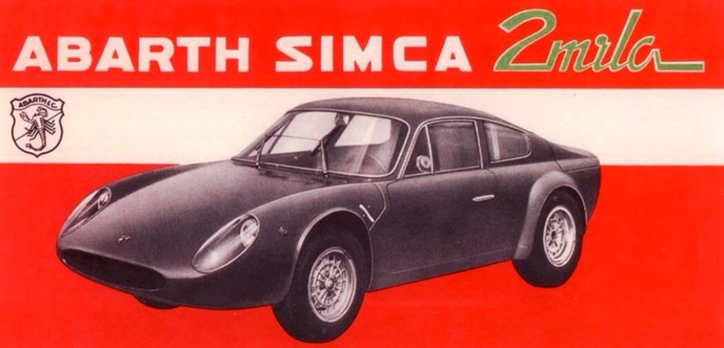 Abarth Simca 1300 GT… | primotipo...
